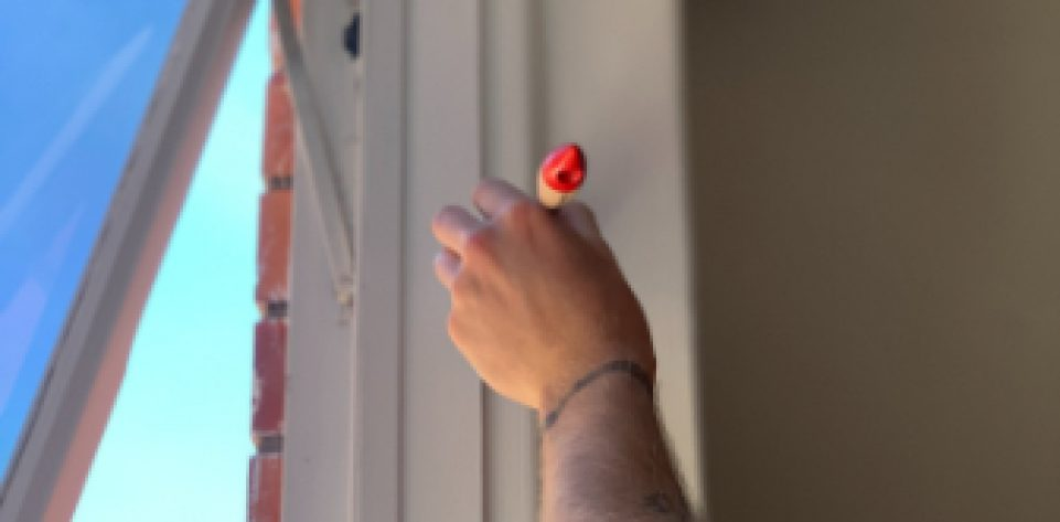 Mackay Pro Painters painting the interior of a house in Glenella, Mackay